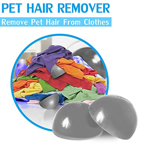 Pet Hair Remover Dog Hair Remover for Clothes, Reusable Pet Fur Remover Lint Catcher for Laundry, Furniture, Dryer, Carpets
