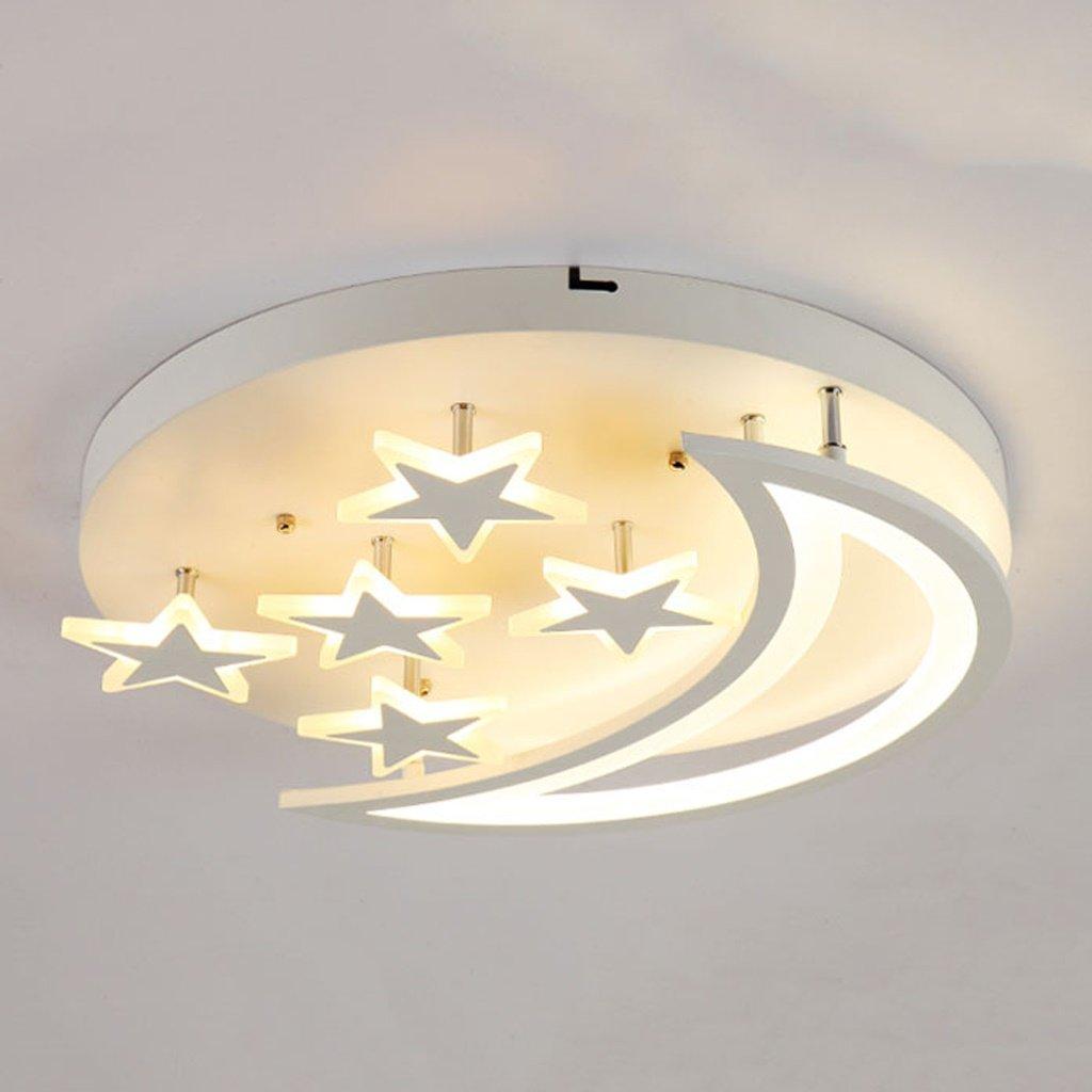 MILUCE モダンスタームーンベッドルームシーリングライト子供部屋照明/アクリルマットレス ( サイズ さいず : 40*10CM ) B071ZYKQRV  40*10CM