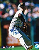 "Autographed Mark Davis San Diego Padres 8x10 Photo Inscribed""89 NL CY"""