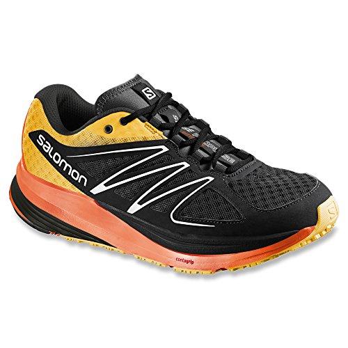 Zapatillas De Running Con Pulso Salomon Hombres Sense Black