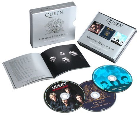 Greatest Hits I, II & III - The Platinum Collection (3CD) by Queen Box set, Original recording remastered edition (2002) Audio CD -