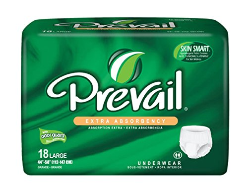 Prevail Pull (MCK82173100 - Adult Absorbent Underwear Prevail Pull On 2X-Large Disposable Heavy Absorbency)