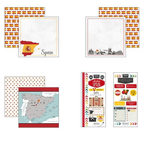 Scrapbook Customs Spain Adventure Scrapbook - Scrapbooking Spain
