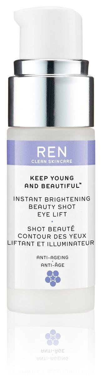 REN Keep Young and Beautiful Instant Brightening Beauty Shot Eye Lift, 0.5 Fluid Ounce