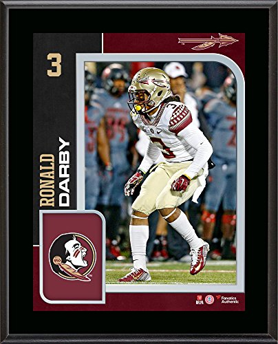 """Ronald Darby Florida State Seminoles 10.5"""" x 13"""" Sublimated Player Plaque - Fanatics Authentic Certified"""