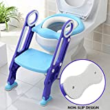 KingSo Children Toilet Trainer Seat with Sturdy & Non-Slip Step Stool Ladder, Adjustable Baby Potty Toilet Seat for Kids Toddlers Boys Girls: more info