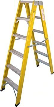 Casa Escalera de almacén, Escalera doble de seis lados Escalera ...