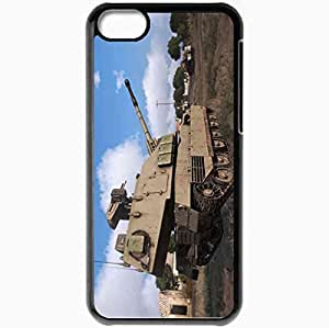 Personalized iPhone 5C Cell phone Case/Cover Skin Arma 3 Black