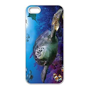 Customized case Of Tortoise Hard Case for iPhone 5,5S