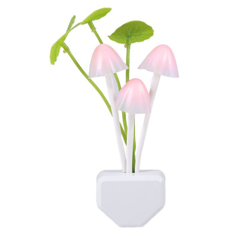 Balai LED Night Light Mushroom Romantic Bed Lamp
