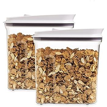 Amazon Com Oxo Pop Cereal Dispenser Medium Set Of 2