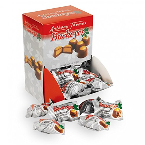 Anthony Thomas Chocolate Buckeyes Dispenser (60 Count)