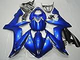 ZXMOTO Y1005BLU Motorcycle Bodywork Fairing Kit for 04 - 06 Yamaha YZF R1 2004 2005 2006 Blue - (Pieces/kit: 20)