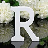 wood letter r - Totoo Decorative Wood Letters, Hanging Wall 26 Letters Wooden Alphabet Wall Letter for Children Baby Name Girls Bedroom Wedding Brithday Party Home Decor-Letters (R)