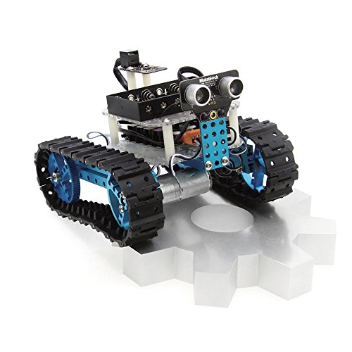 Makeblock Arduino DIY Starter Robot Kit - STEM Education - Robotics and Electronics - Programmable Robot Kit for Kids, Bluetooth Version (Remote Yourself Starter)
