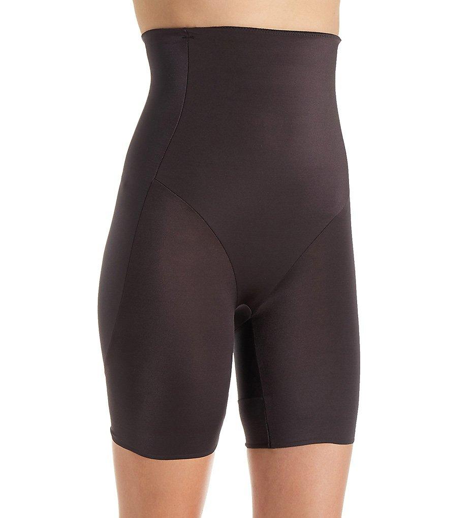 TC Fine Intimates Rear & Thigh Firm Control High-Waist Slimmer, M, Black