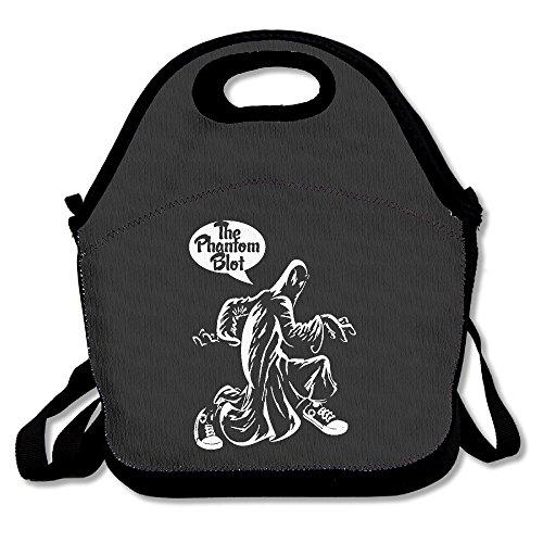 Phantom Blot Lunch Box Bag For Kids Adult Men Women Girl Boy,lunch Tote Lunch Holder With Adjustable Strap ,double Shoulder ()