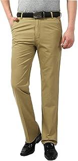 Herren Chino Hose Slim Fit Hosen Stretch Cotton Straight Leg Kleidung Anti Wrinkle Breathable Soft Slim Straight Stretch Chinos Casual Trousers Dress Pants