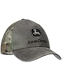 John Deere Men's Waxed Cotton Camo Mesh