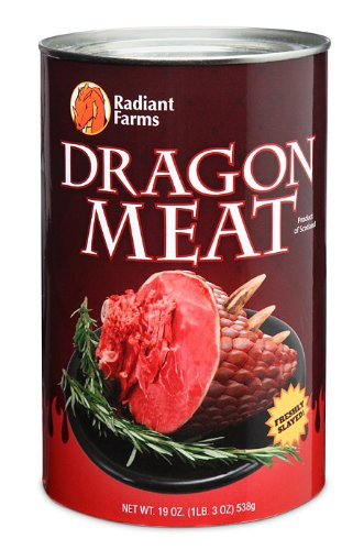 ThinkGeek Canned Dragon Meat Toy
