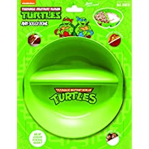 Just Solutions! Nickelodeon, Teenage Mutant Ninja Turtles Anti-Soggy Bowl for Cereal/Milk, Veggies/Dip, Fries/Ketchup and More, Green