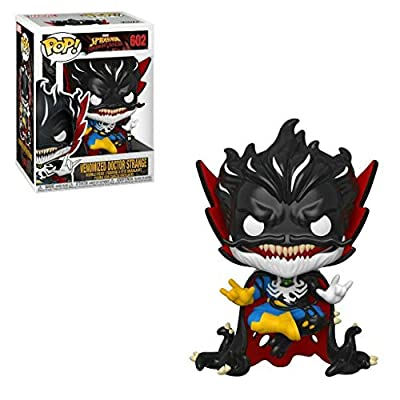 Venomized Doctor Strange Pop Marvel: Spider-Man Maximum Venom Vinyl Figure (Bundled with EcoTEK Plastic Protector to Protect Display Box): Toys & Games