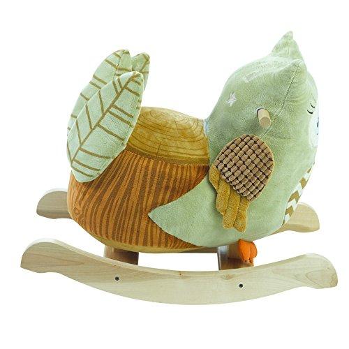 Rockabye Owliver Green Owl Rocker, One Size by Rockabye (Image #4)