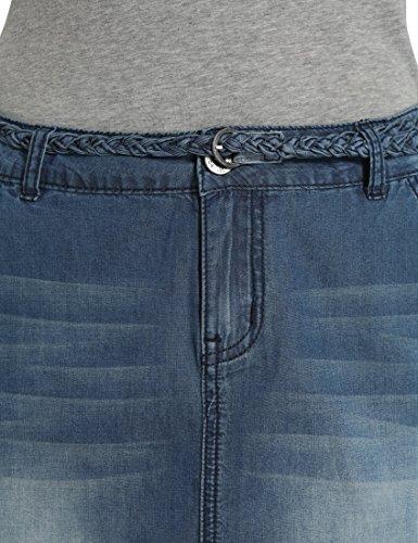Dunkelblau da jeans Blu Gonna donna Berydale 0qwXX8
