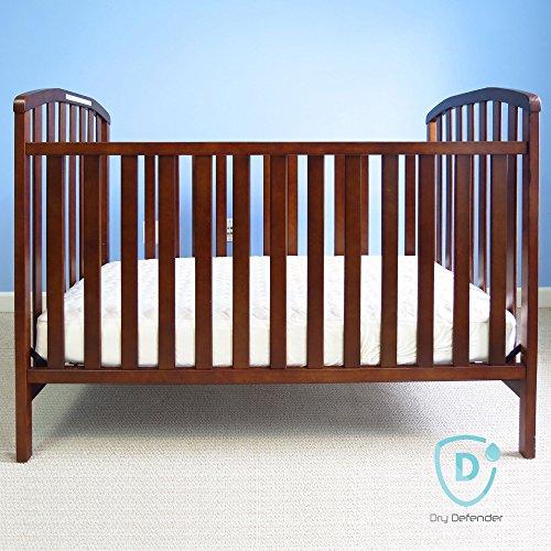 Best Non Toxic Crib Mattress: Organic Cotton Waterproof Fitted Crib Pad