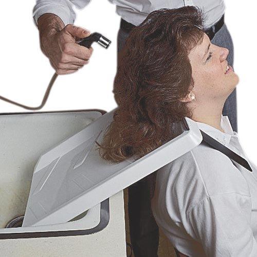 Ableware 764290000 Shoulder Mounted Shampoo Rinse Tray