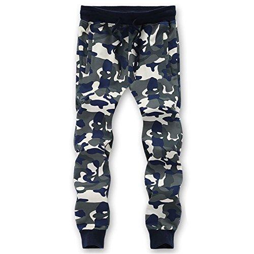 Cheryl Bull Stylish L-6XL 7XL 8XL=52.54 Inch Waist 95% Cotton Camouflage Sweatpants Men Trousers Sweat pants XXL