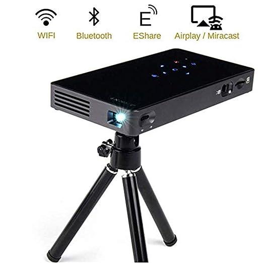 Mini proyectores Proyector de video portátil, Android 7.1 ...