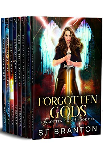 8-in-1 Boxed Set Alert!  #1 New Release in Greco-Roman Myth & Legend Fantasy eBooks! Forgotten Gods Omnibus (Books 1-8) by CM Raymond, ST Branton and LE Barbant