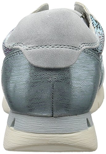 Turquoise 797 Femme Basses Sneakers 23703 Comb Tozzi Turquoise Marco OPq14fHOc
