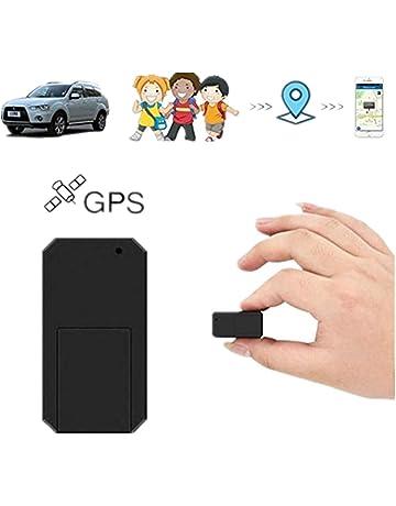 Hangang Mini GPS Tracker Localizador GPS Rastreador GPS Antirrobo de SMS Seguimiento en Tiempo Real para