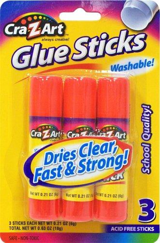 Cra Z art Washable Glue Sticks 11303
