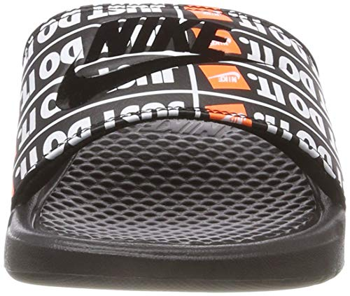 Black Uomo 001 Benassi Scarpe Nero Black It da Spiaggia Do Print Nike e Piscina Just f76nfH