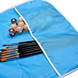 Mudder 2 Pieces Children's Art Smock, Artist Smock, Waterproof Painting Apron
