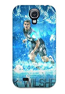 Awesome Jack Wilshere Full Flip Case With Fashion Design For Galaxy S4