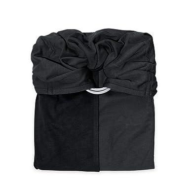 je porte mon bébé Petite Echarpe sans Nœud Anthracite Noir  Amazon ... fdbd8480e54