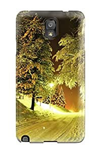 4842078K95909355 Galaxy High Quality Tpu Case/ Winter Night Case Cover For Galaxy Note 3