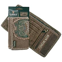 Guinness Canvas Wallet Featuring Wings Design Harp & 1759 Logo by Guinness
