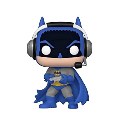 Funko Pop! Heroes DC Gamer Batman Exclusive Vinyl Figure 293: Toys & Games
