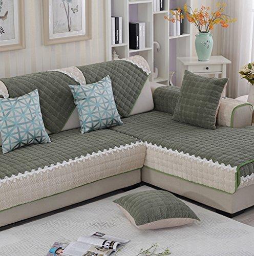ZebraSmile Various Sizes Corduroy Sofa Towel Cover Decrotive Sofa Cover Antiskid Sofa Cover For Sofa and Sofa Arm