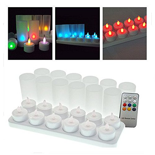 Rechargeable Flickering Led Candle Lights in Florida - 9