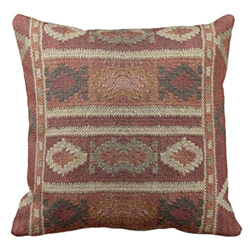 ZGNNN-EU Ikat Kilim Tapestry Earth Colors Print - Fundas ...