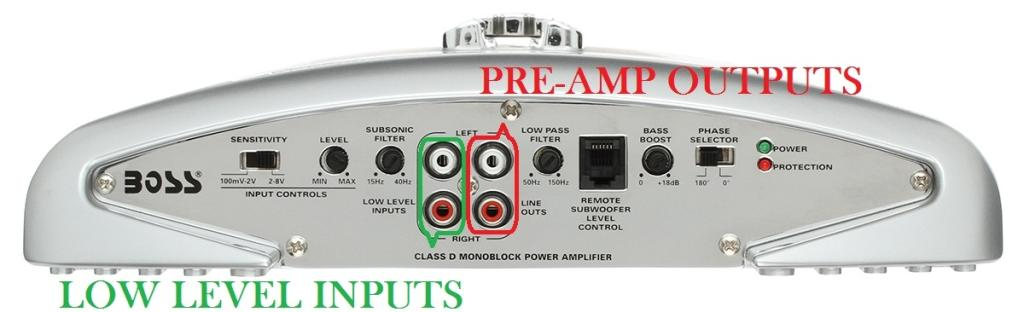 Two amp hook up