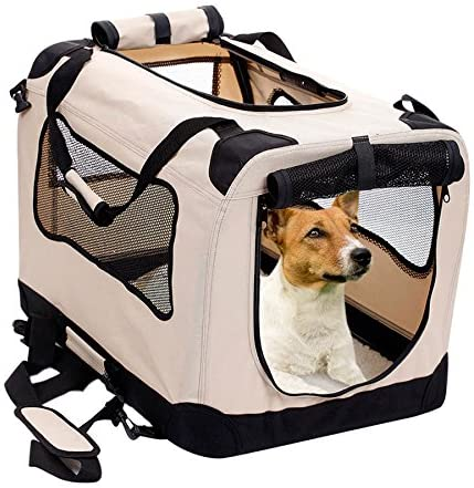 2PET-Foldable-Dog-Crate-Soft,-Easy-to-Fold-&-Carry-Dog-Crate-for-Indoor