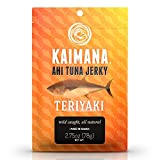 Kaimana Ahi Tuna Jerky Teriyaki 2.75 Ounce – Soft and Tasty – Premium Fish Jerky Made in the USA. High in Omega 3's, All Natural and Wild Caught Review