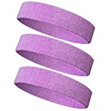 Meanch Basketball Running Football Tennis- 6PCS/ 3PCS Terry Cloth Athletic Sweatbands Fits to Men and Women